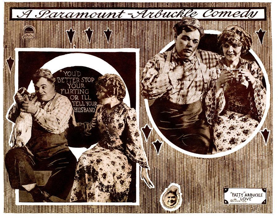 Love, Left To Right Roscoe Fatty Photograph