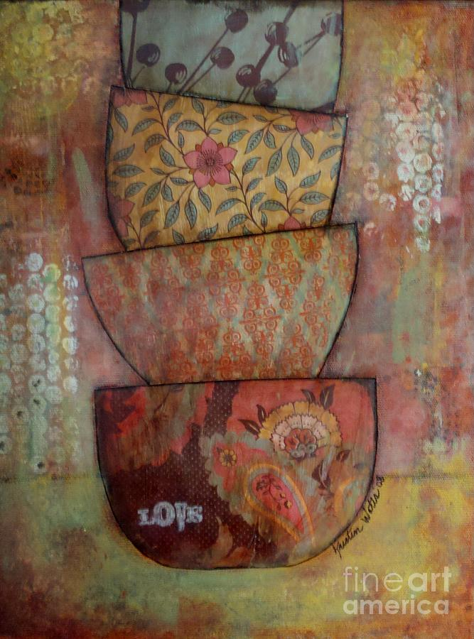 Love Stack Painting