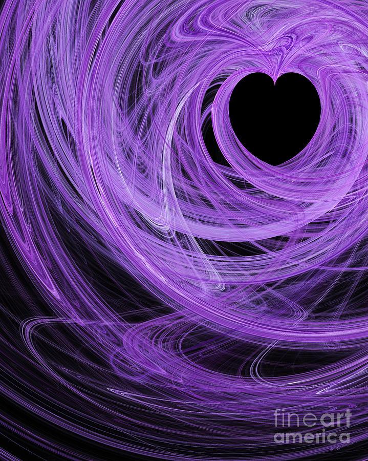 Love Swirls . A120423.689 Digital Art