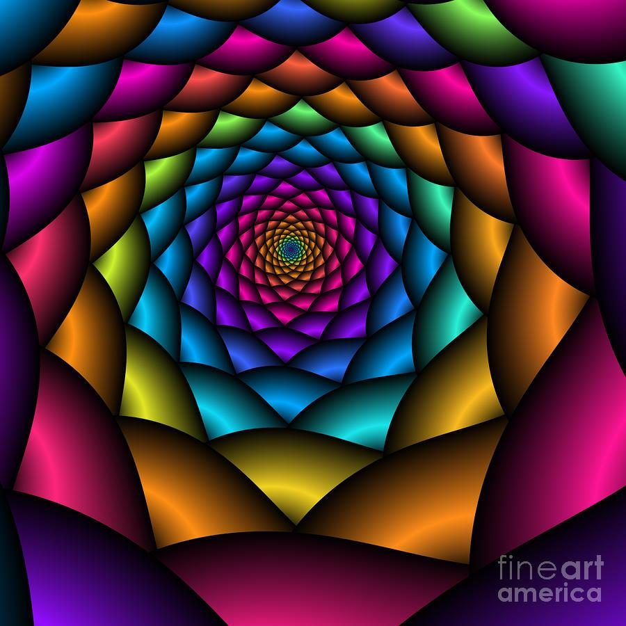 Love Tunnel 219 Digital Art