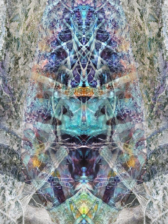 Spiritual Digital Art - Lovefest by Lynzi Wildheart