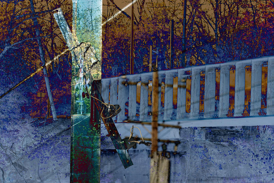Oxidart Photograph - Loveland Bridge by Robert Glover