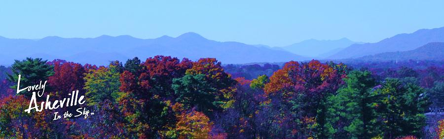 Lovely Asheville Fall Mountains Photograph  - Lovely Asheville Fall Mountains Fine Art Print