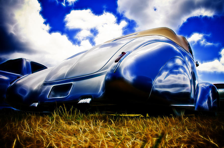 Low Ford Roadster Photograph  - Low Ford Roadster Fine Art Print
