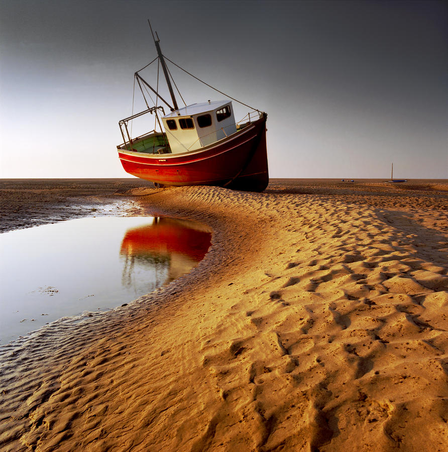 Low Tide Photograph  - Low Tide Fine Art Print