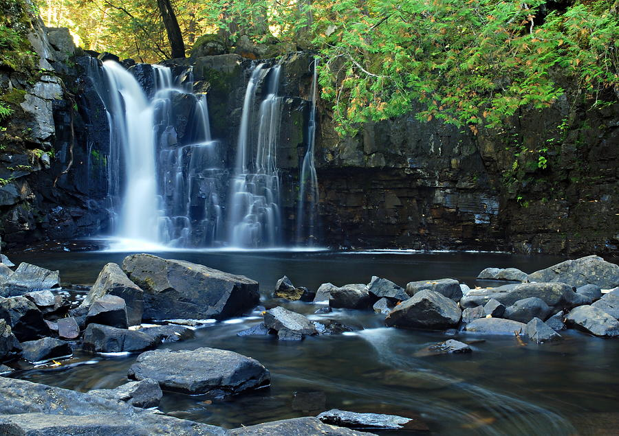 Lower Johnson Falls Photograph  - Lower Johnson Falls Fine Art Print