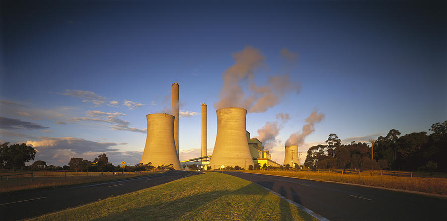 Loy Yang Power Station, Coal Burning Photograph