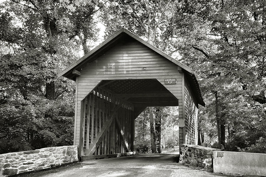 Loys Station Bridge II Photograph  - Loys Station Bridge II Fine Art Print