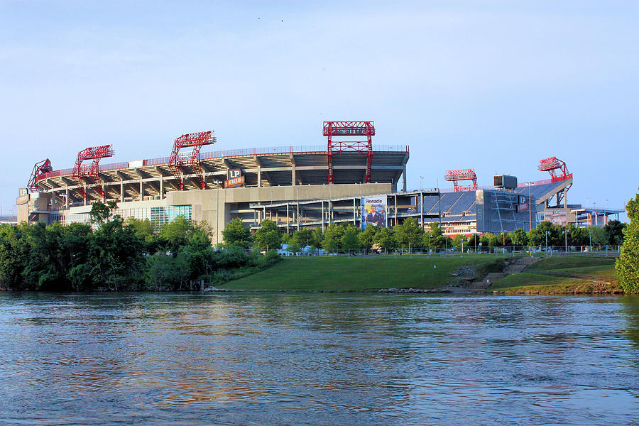 Lp Field Nashville Tennessee Photograph  - Lp Field Nashville Tennessee Fine Art Print