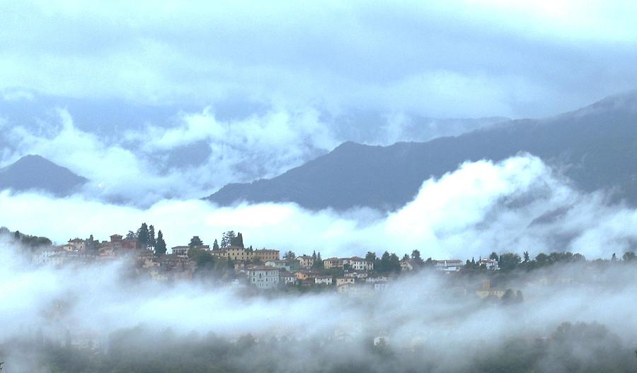 Lucca In The Fog Photograph  - Lucca In The Fog Fine Art Print