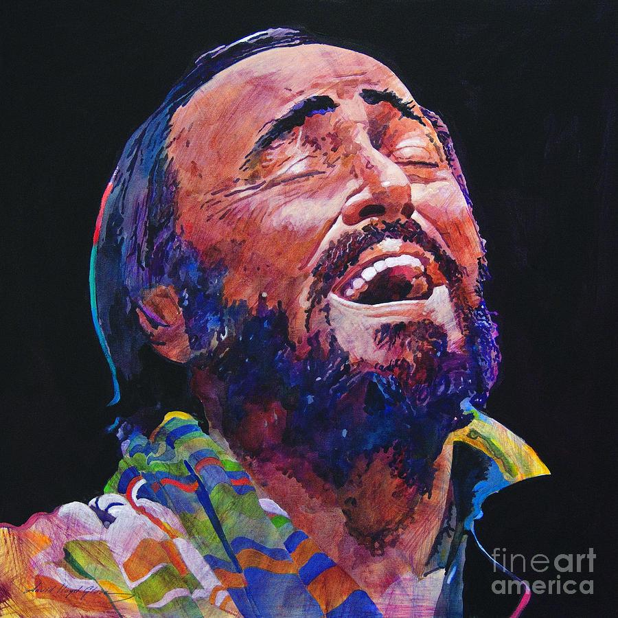 Luciano Pavrotti Painting