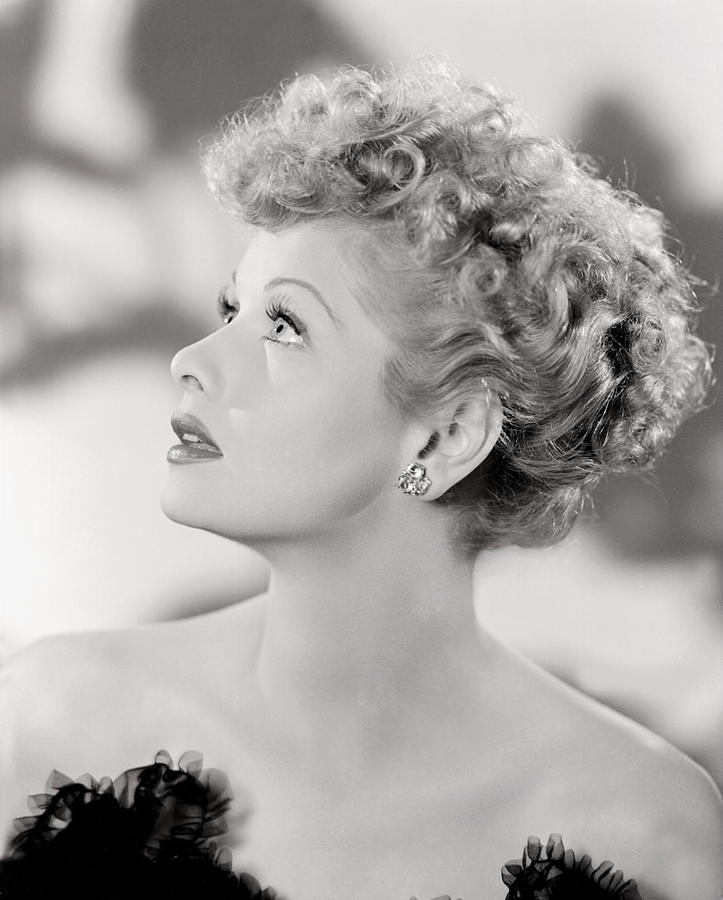 Lucille Ball Portrait, 1940s Photograph