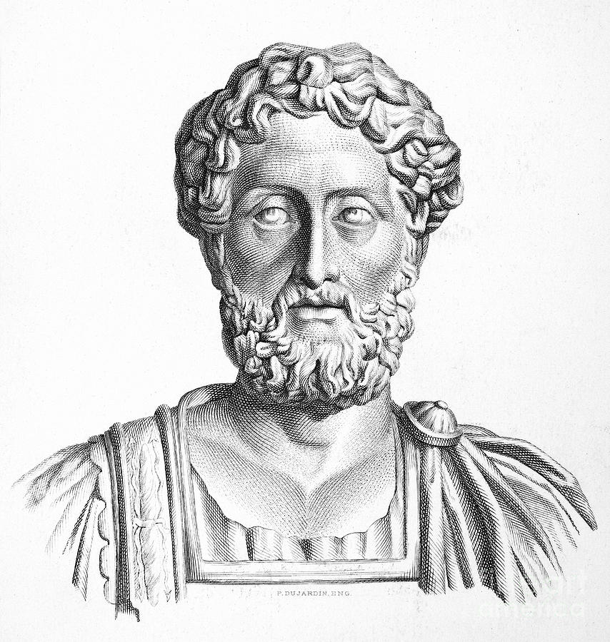 Lucius Commodus (161-192 A.d.) Photograph  - Lucius Commodus (161-192 A.d.) Fine Art Print