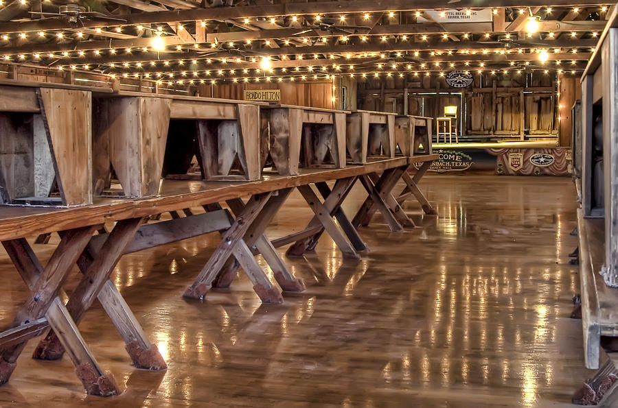 Luckenbach Dance Hall Photograph  - Luckenbach Dance Hall Fine Art Print