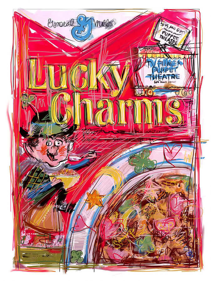 Lucky Charms Mixed Media