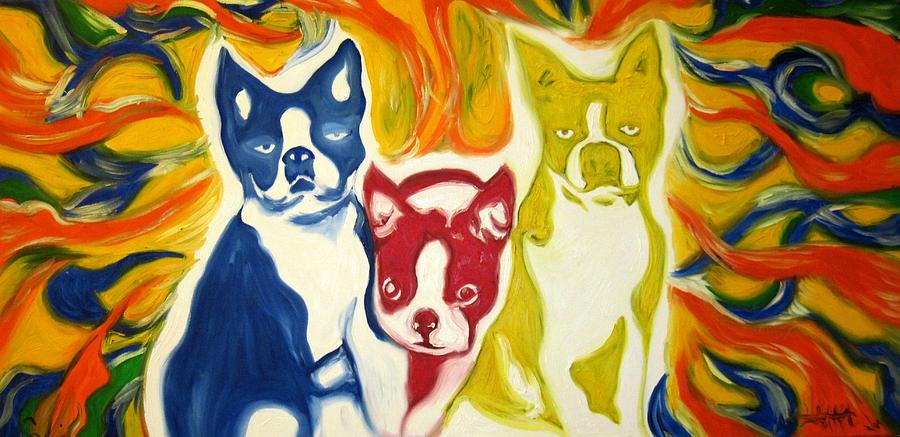 Lucky Dog Painting