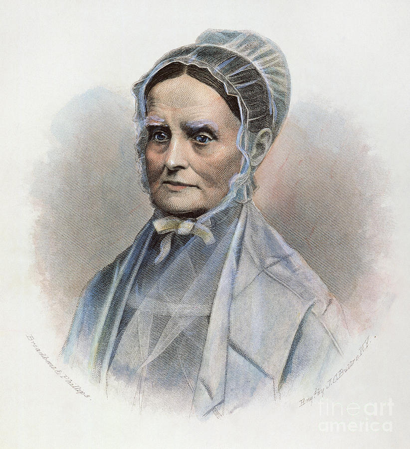 Lucretia Coffin Mott Photograph
