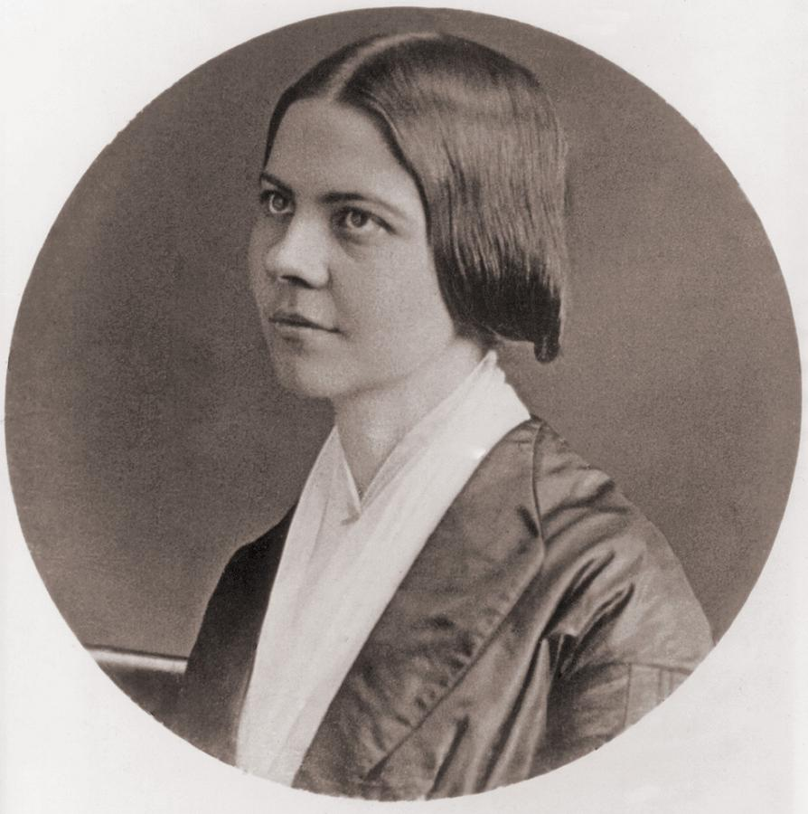 History Photograph - Lucy Stone, 1818-1893, American by Everett