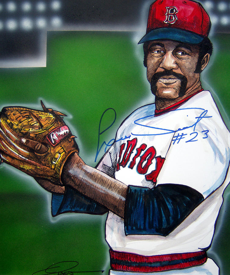 Luis Tiant Painting