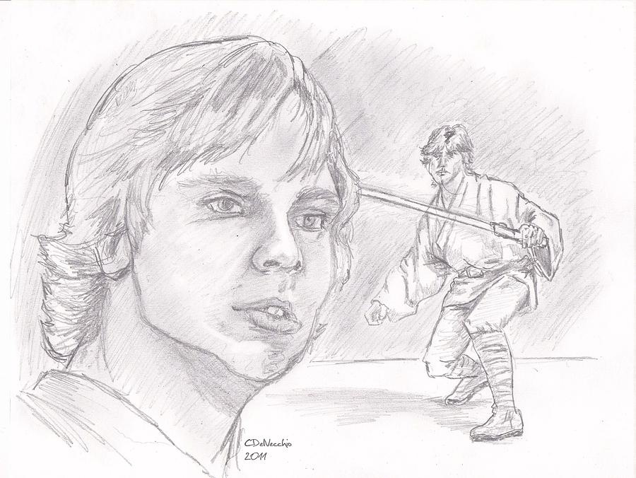 Luke Skywalker - Farmboy Drawing