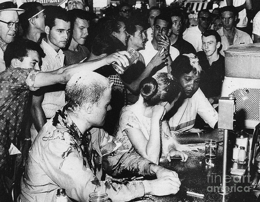 Lunch Counter Sit-in, 1963 Photograph