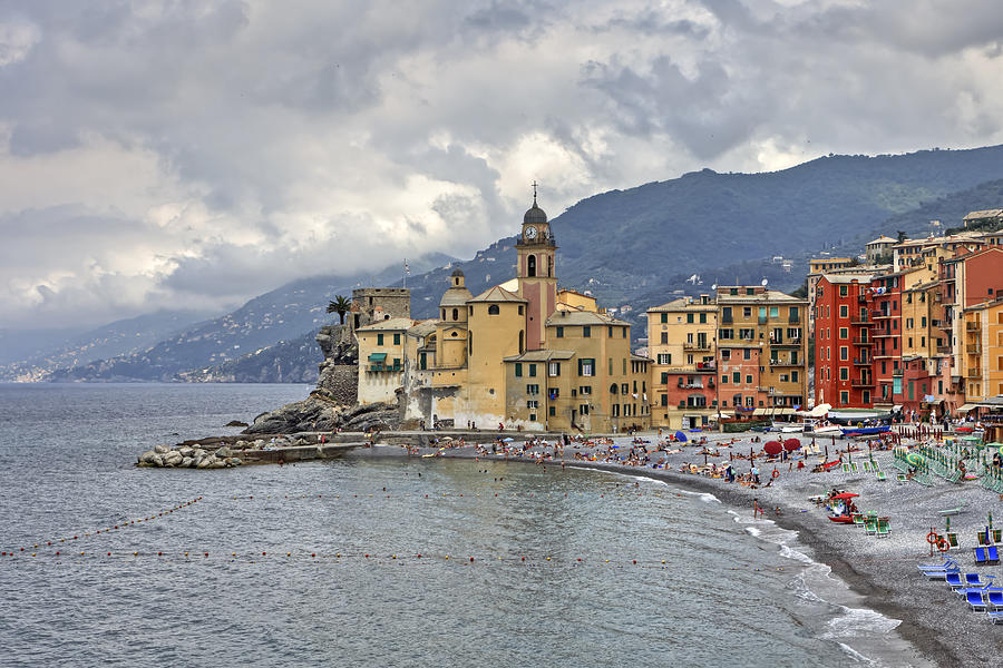 Lungomare In Camogli Photograph