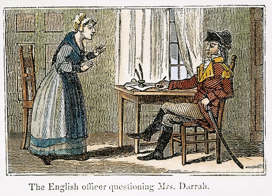 Lydia Darrah, 1777 Photograph