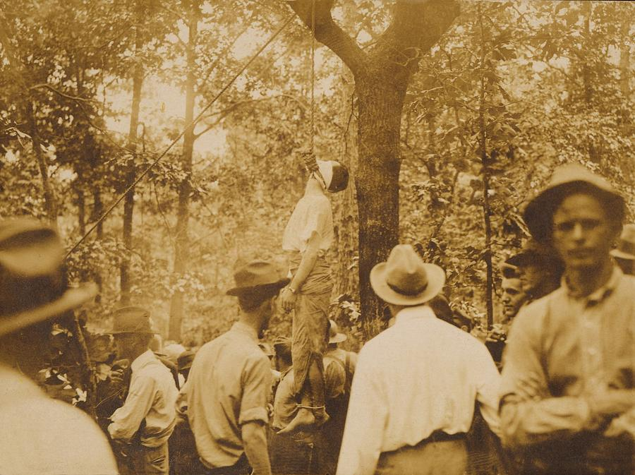 History Photograph - Lynching Of Leo Frank 1884-1915 by Everett