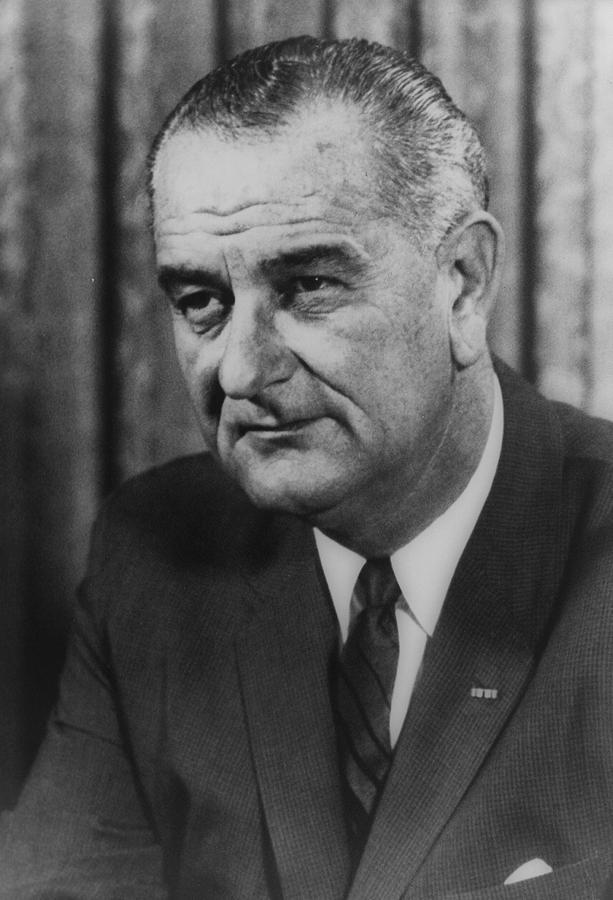 lyndon Johnson  Photograph - Lyndon B Johnson by International  Images