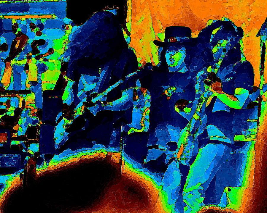 Lynyrd Skynyrd Pastel Oakland 2 Photograph