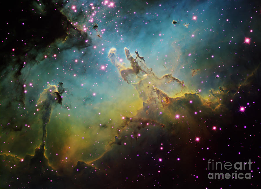 M16 The Eagle Nebula Photograph