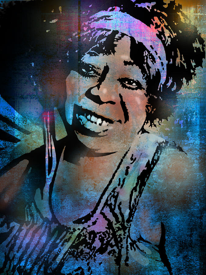 Ma Rainey Painting