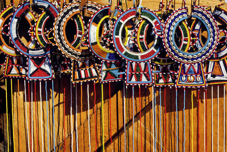 Maasai wedding necklaces by michele burgess