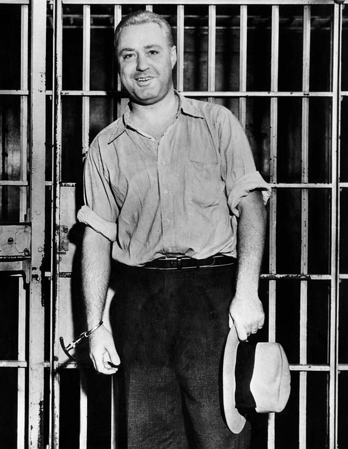 Machine Gun Kelly, Handcuffed To Cell Photograph