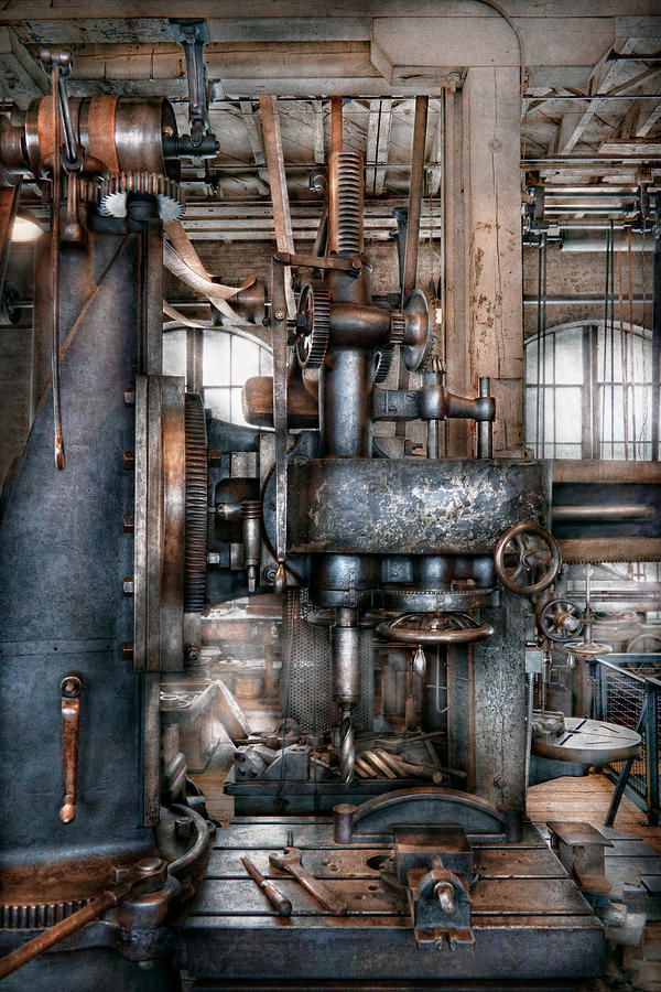 Machinist - My Really Cool Job Photograph  - Machinist - My Really Cool Job Fine Art Print