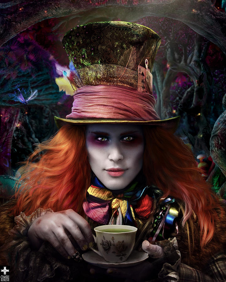 Mad As A Hatter Digital Art  - Mad As A Hatter Fine Art Print