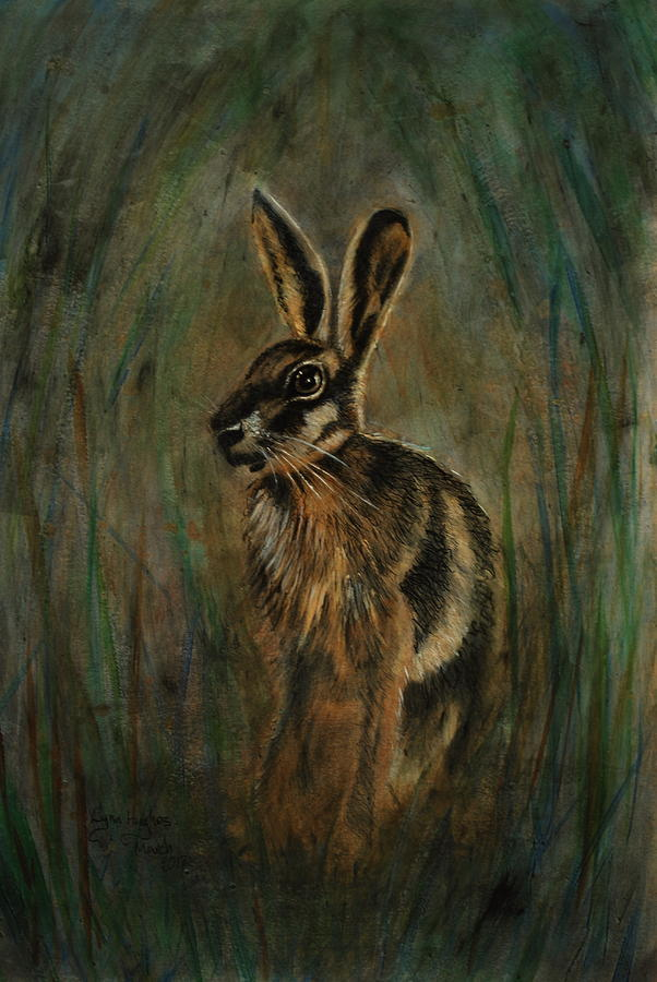 Mad March Hare Painting