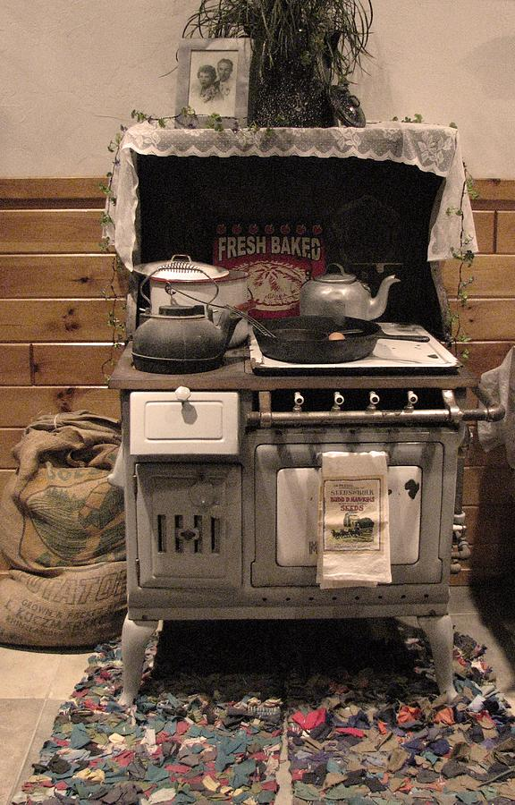 Maddies Old Stove Photograph