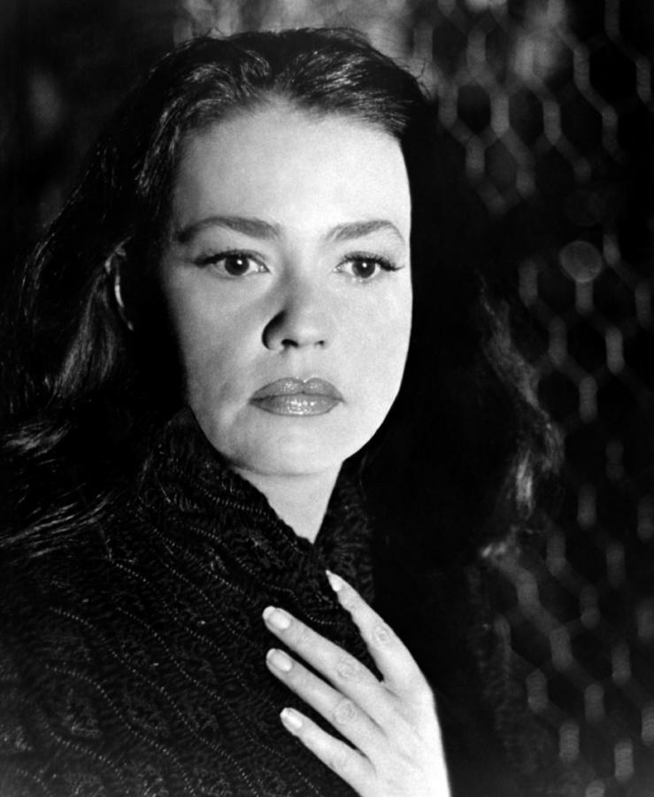 Mademoiselle, Jeanne Moreau, 1966 Photograph
