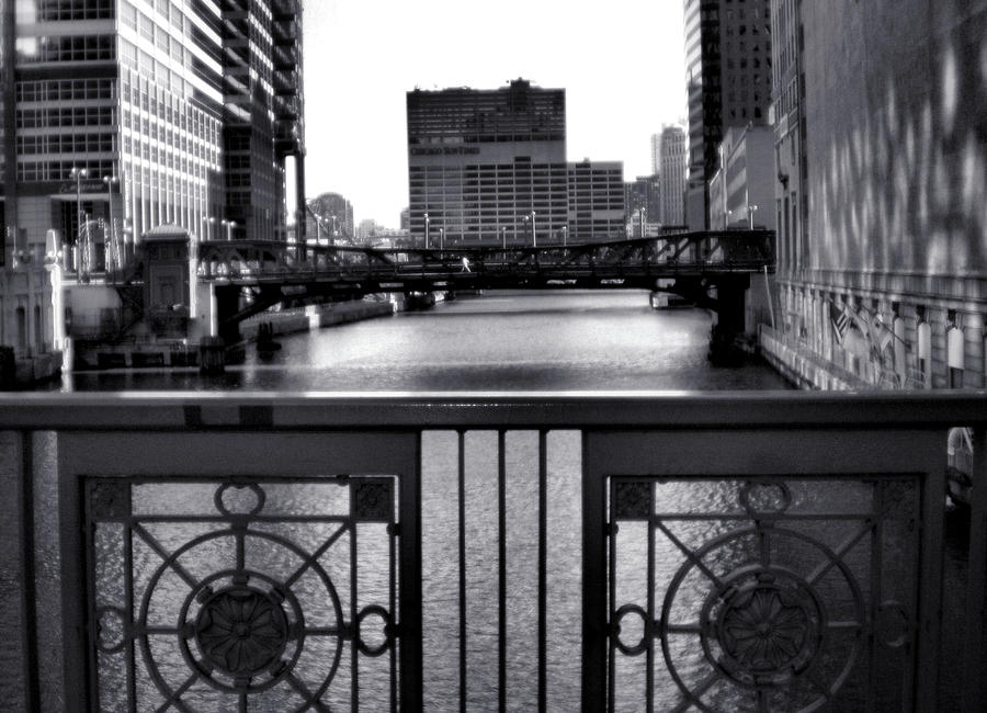 Madison Street Bridge - 3 Photograph  - Madison Street Bridge - 3 Fine Art Print