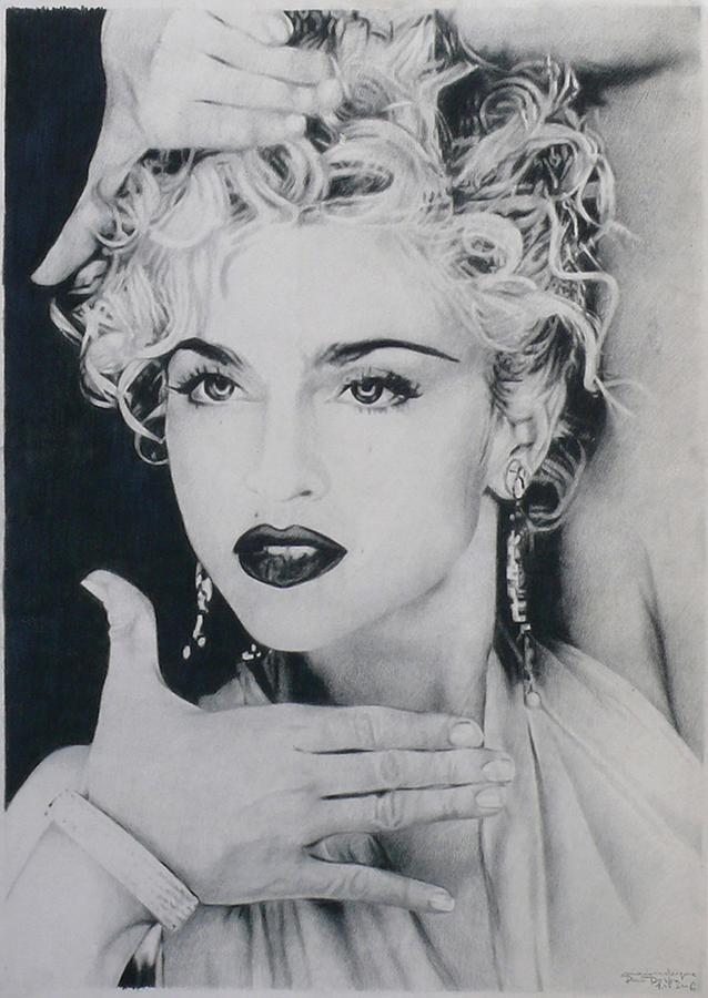 Madonna vogue by pawel deska