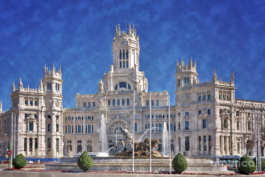 Madrid City Hall Photograph  - Madrid City Hall Fine Art Print