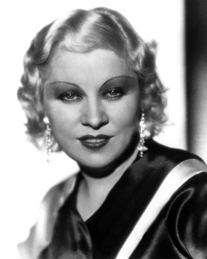 Mae West, Paramount Pictures, Ca. Early Photograph