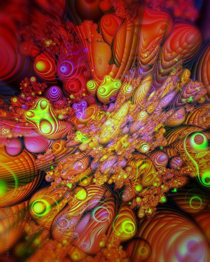 Maelstrom Of Emotion Digital Art