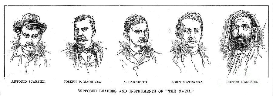 Mafia Leaders, C1890 Photograph