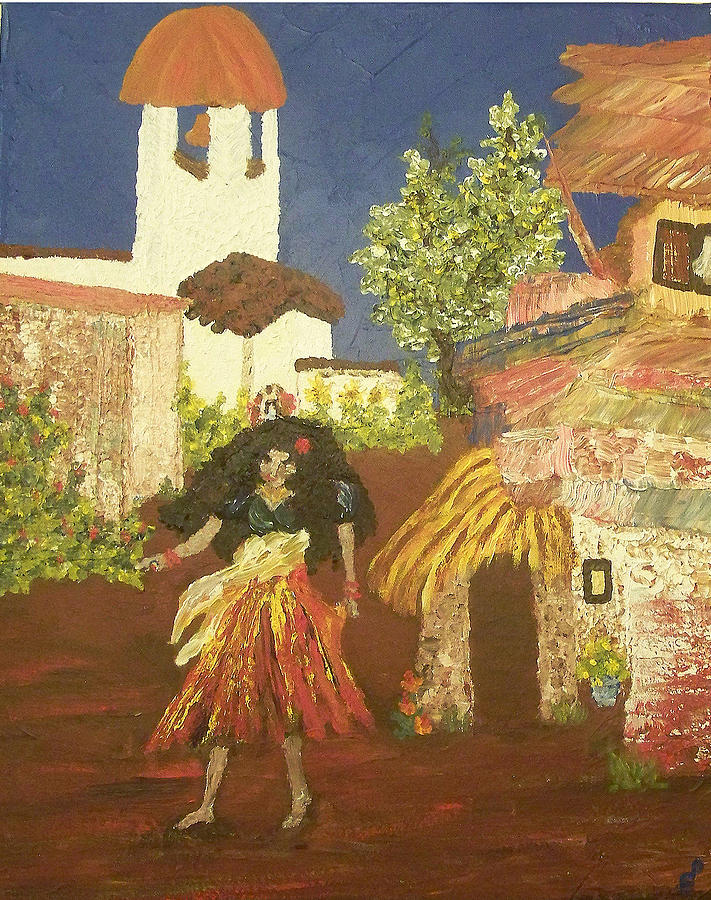 Magdalena Mujar De Los Gitanas Painting