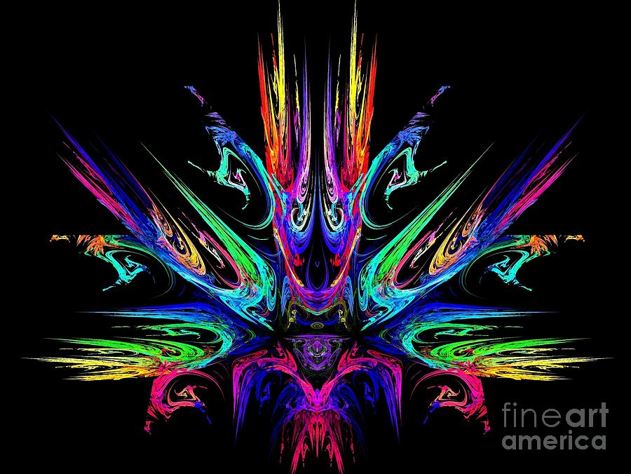 Magic Fire Digital Art