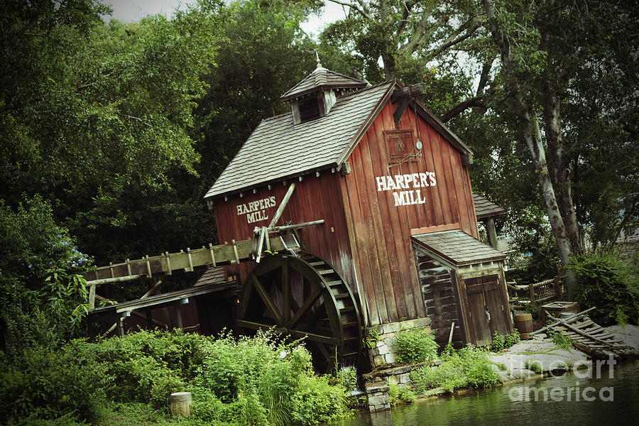 Magic Kingdom - Harpers Mill Photograph  - Magic Kingdom - Harpers Mill Fine Art Print