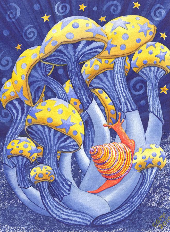 magic mushroom art - photo #2