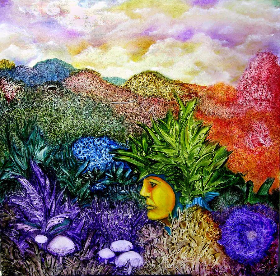 Magic Mushrooms Painting